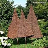VIDEX-Sichtschutz-Weidenbaum, natur, klein, Ca. B: 80cm x H: 160cm (davon 65cm Stamm)
