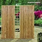 Videx-ZEN Sichtschutzwand Bambus mit Spalier, 120 x 180cm
