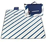 VORCOOL Dicke Picknickdecke 200x200cm mit Wasserundurchlässiger Unterseite für Picknicks, Camping