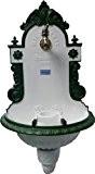 Wandbrunnen WIENER BASSENA grün/weiß