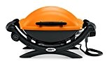 Weber 52190053 Grill, Q1400 - Elektro, 66x49x62 cm, orange