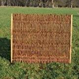 Weidenzaun / Flechtzaun 'Norman' als Sichtschutz und Windschutz - Sichtschutzzaun 1 Stück, 180 x 150 cm