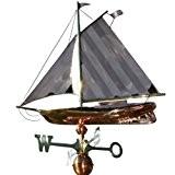 Wetterfahne großes Segelschiff