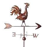Windrad Wetterhahn Wetterfahne Metall Antik