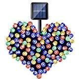 YOEEKU 200er LED Solar Lichterkette Garten Außen Licht 20M, 8 Modi Dekorative Beleuchtung für Terrasse, Party, Hochzeit, Camping, Weihnachten, Hof ...