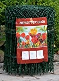 Ziergitter Gartengitter Gartenzaun Maschendrahtzaun 65 cm hoch 25 m lang Grundpreis pro Meter 1,52 EUR