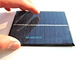 Zimo® 50er 6V 1.1W 200mA Solarpanel Solarmodul Solarzelle Polykristallin Solar Ladegerät